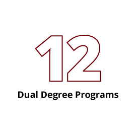 Infographic: 12 dual degree programs