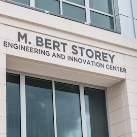 Storey Innovation sign