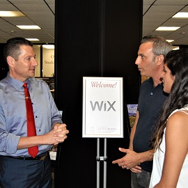Mark Rosenbaum with Wix reps