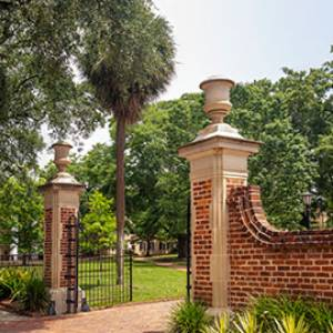 gates of the UofSC horseshoe